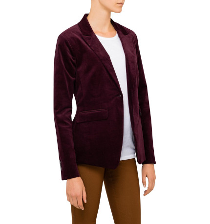 Studio W Burgundy Blazer to go with the pants, also from David Jones.  $179.95.   Shop here