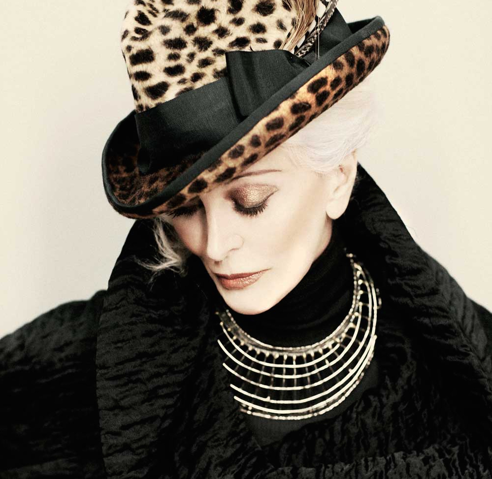 Carmen dell'Orefice is 82 years young. Born 1931 and still a fashion model who knows she is enough.   Photo