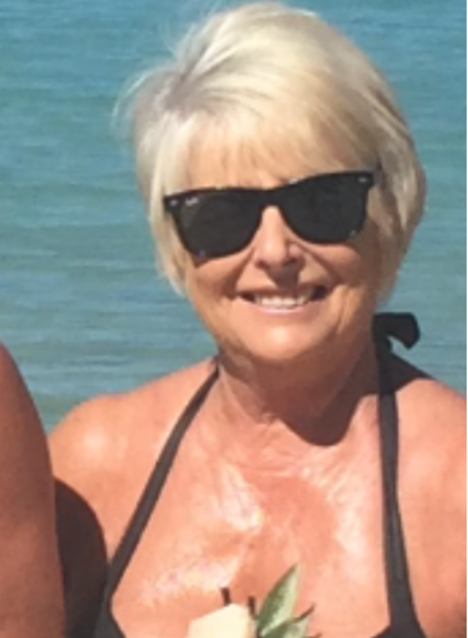 Glam Rose, still rocking those bikinis in her 70's.  We love you Rose.