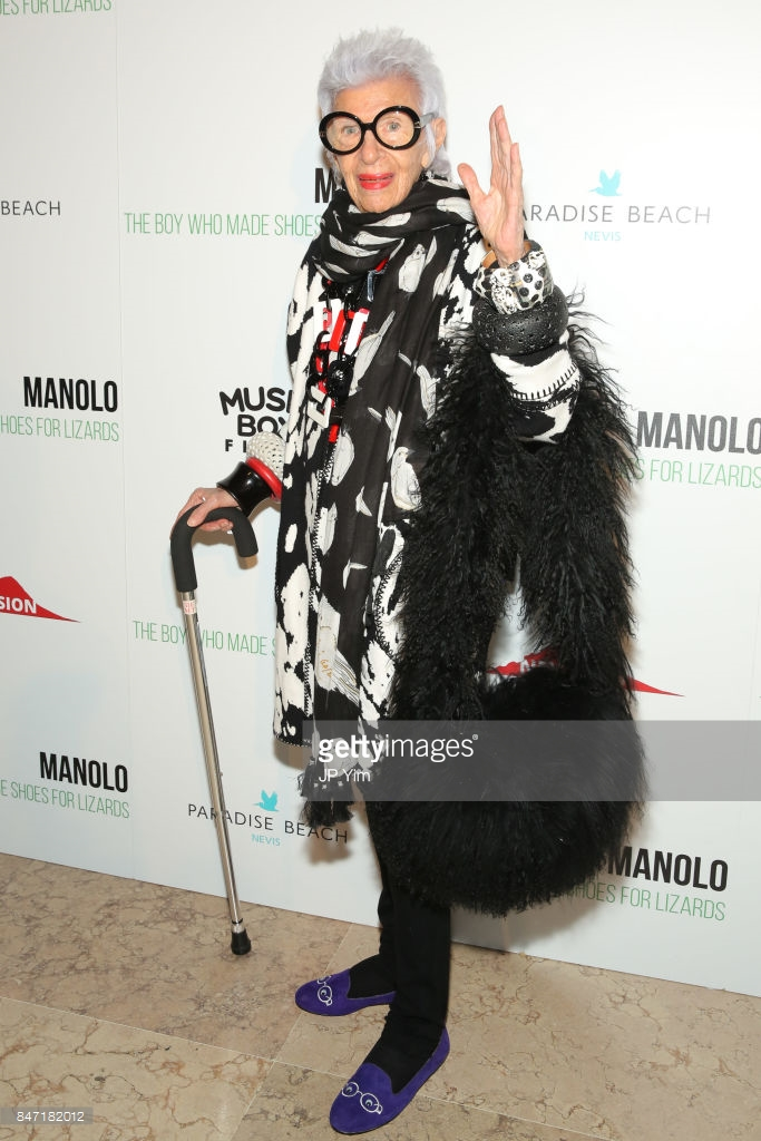 Manolo Blahnik With The Cinema Society Host The Premiere Of 'Manolo: The Boy Who Made Shoes For Lizards'  Photo by JP Yim/Getty Images