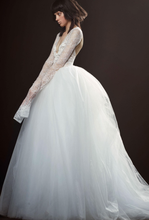 One of Vera Wang's 2018 Wedding Dresses from her collection.  Image
