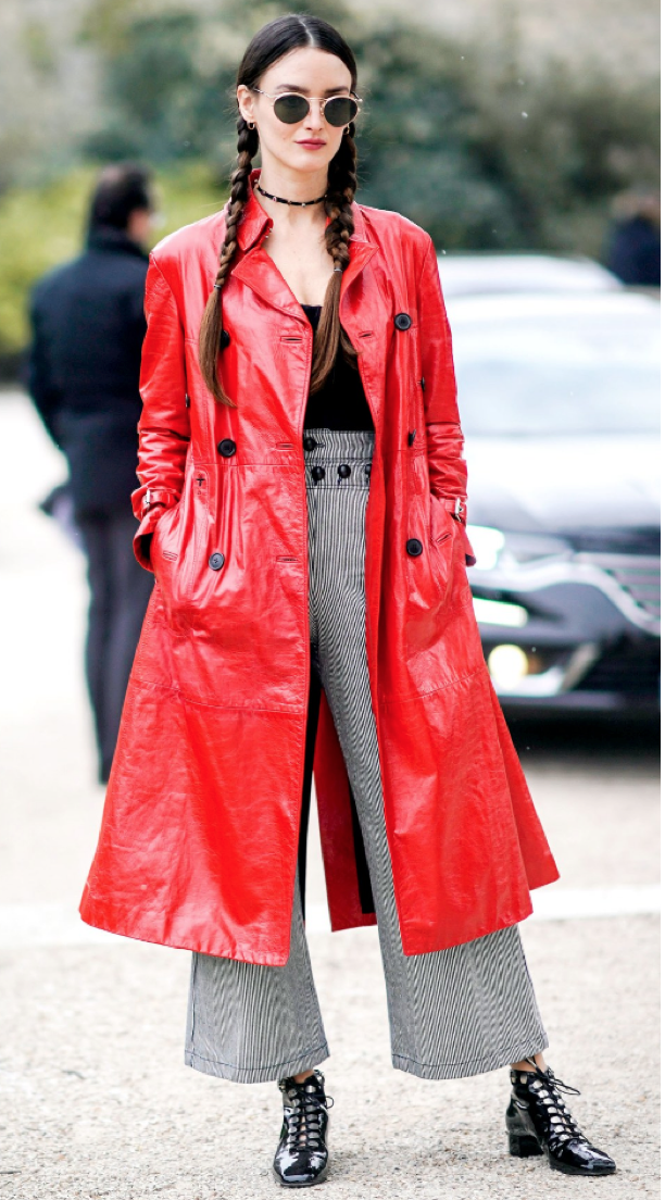 Will you be wearing a red coat this winter?  Image