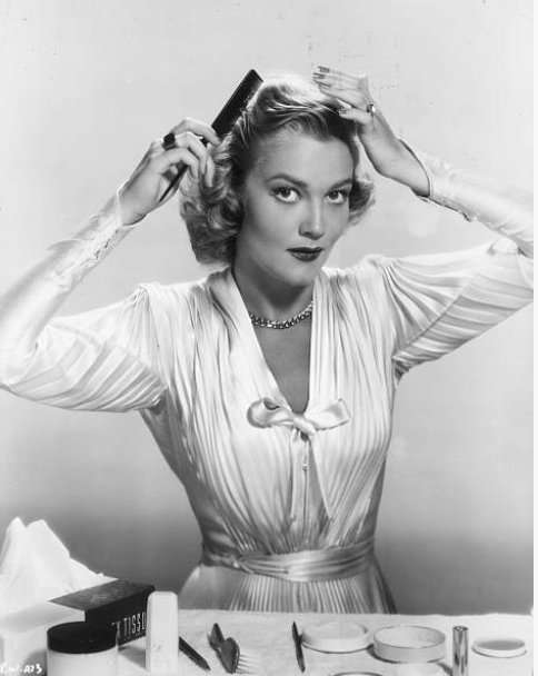 Patrice Wymore (1950) American actress and the wife of wayward actor Errol Flynn.   Image