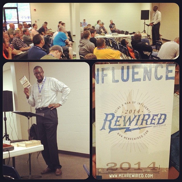 Men were challenged at the  Rewired Men's conference  to discover solutions before a crisis takes place.