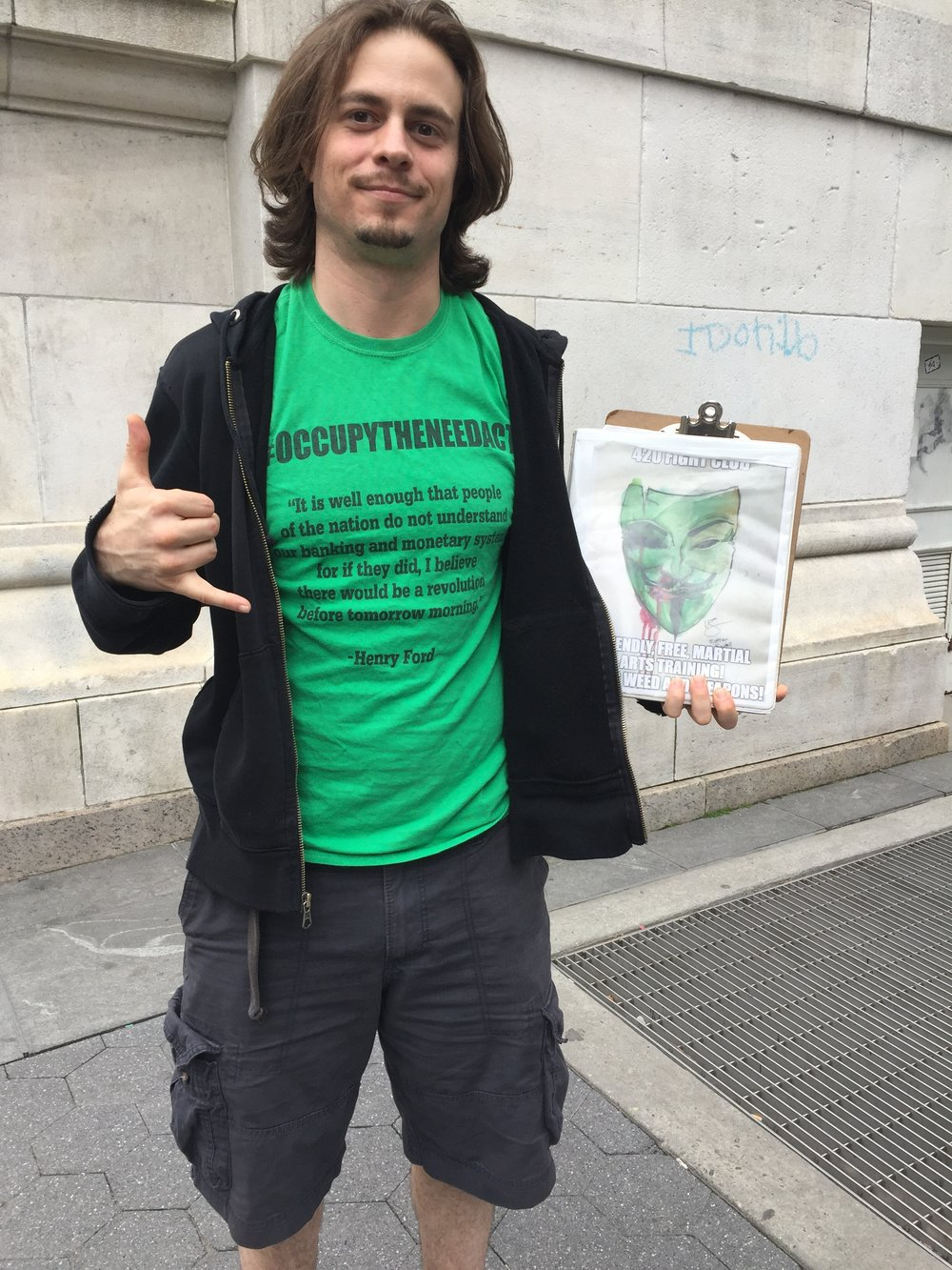 Harrison Schultz - Harrison Schultz of the 4/20 Fight Club joins me to discuss the United States Monetary System, his thoughts on the Federal Reserve, and what really happened behind the scenes during the Occupy Wall Street Movement.