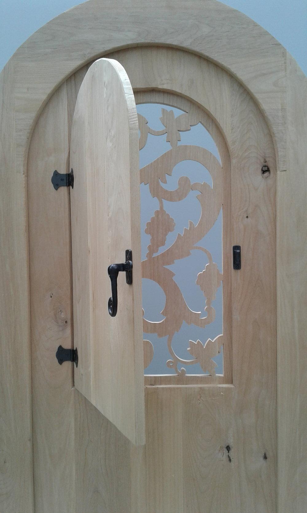 Wine Room Door #3 Opens As a Speakeasy