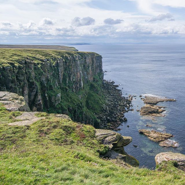 Easter Head, Dunnet Head, Scotland, UK. The most northern point of Great Britain (not John o'Groats!) . . . . . #scotland #nature #sky #birds #britain #travel #coast #landscape #summer #trip #uk #lovescotland #visitscotland #earthporn