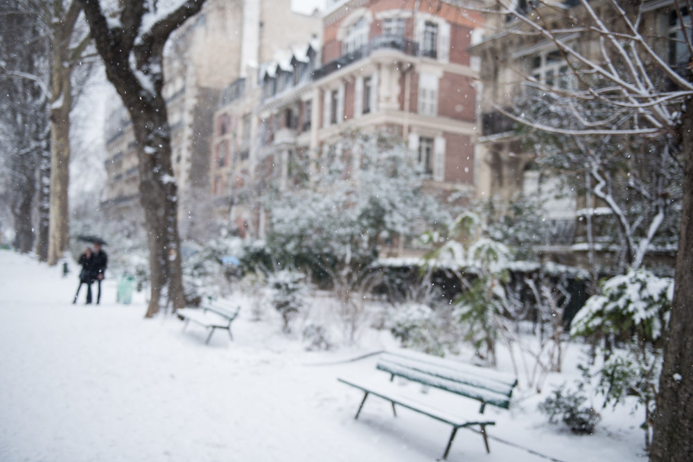 Blizzard in Paris - 2