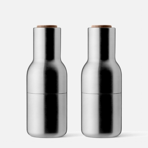 Menu Bottle Grinder Brushed Steel