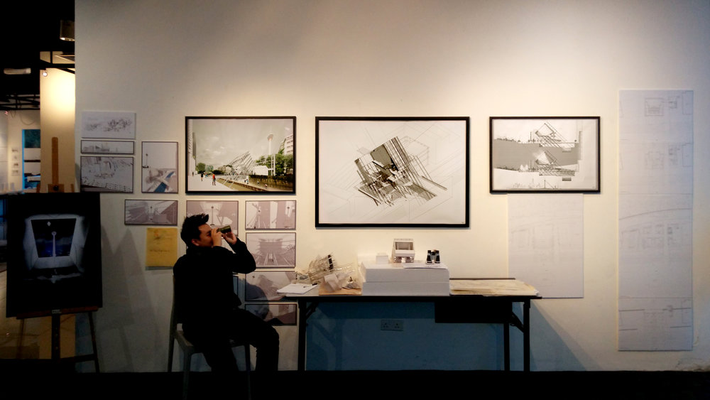 Featuring VPAC in an architecture exhibition in 2015.