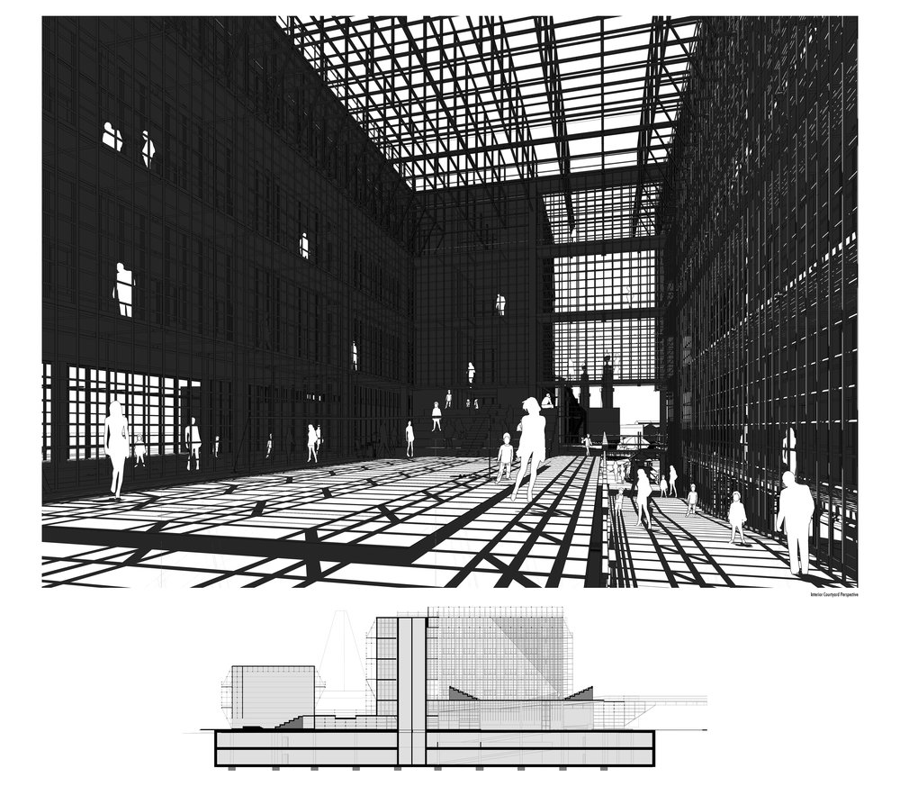 Internal Courtyard Perspective...