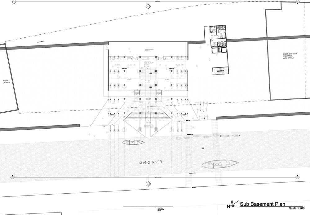 Sub Basement Plan