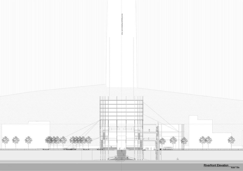 Riverfront Elevation