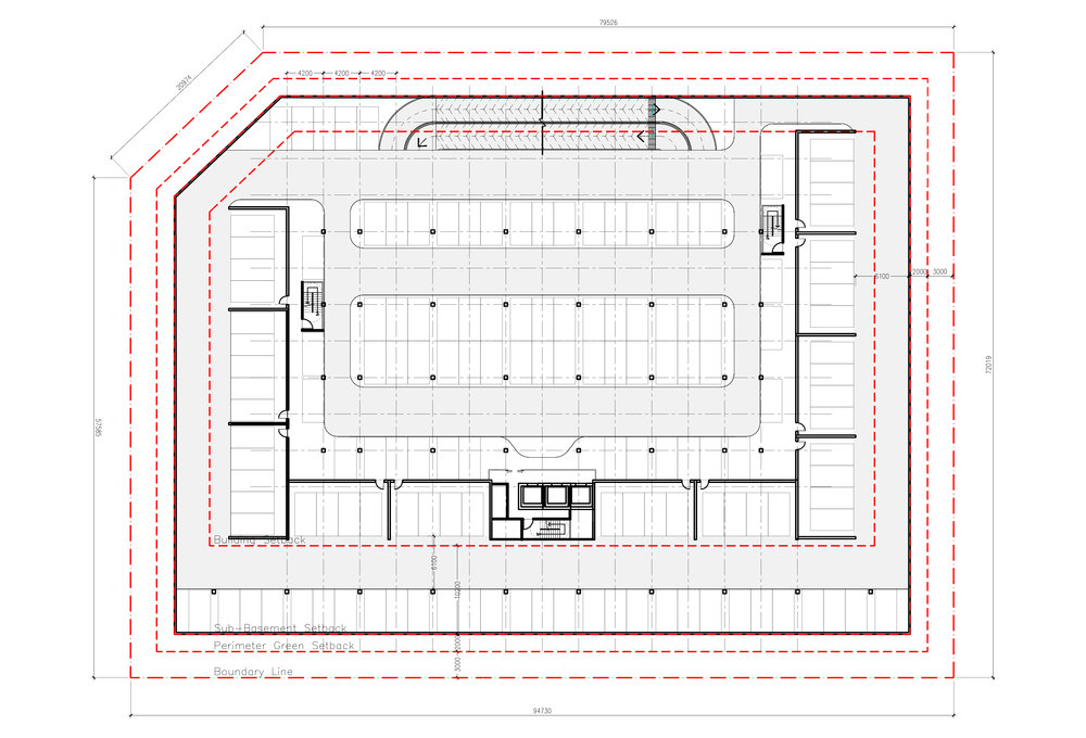 Sub-basement Floor Plan