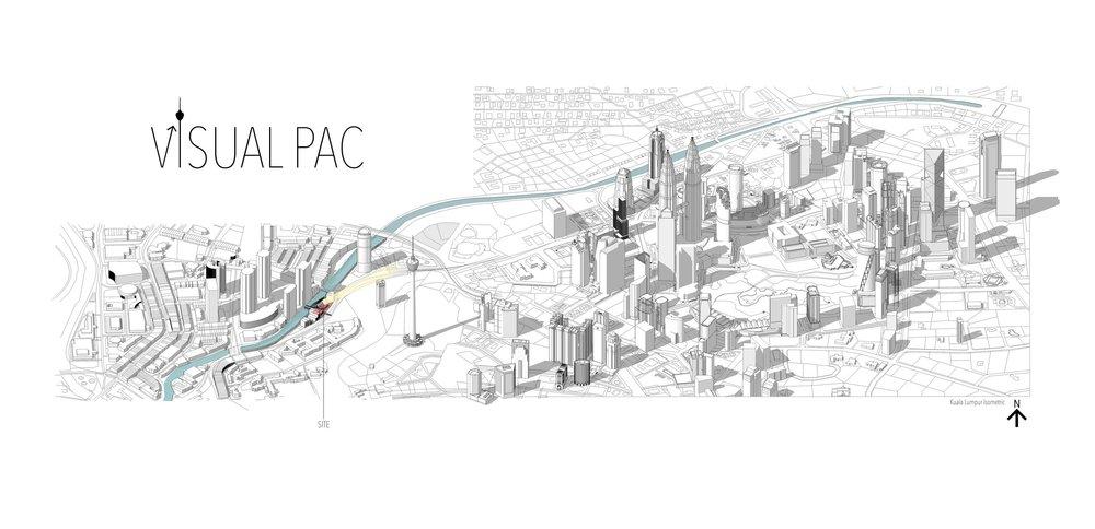 地領優勢 - 建築設計的提案處於吉隆坡山下的寧靜地區