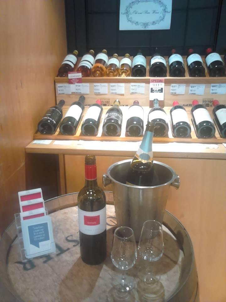 Organisation d'une dégustation avec les vins de la marque Oyster Bay