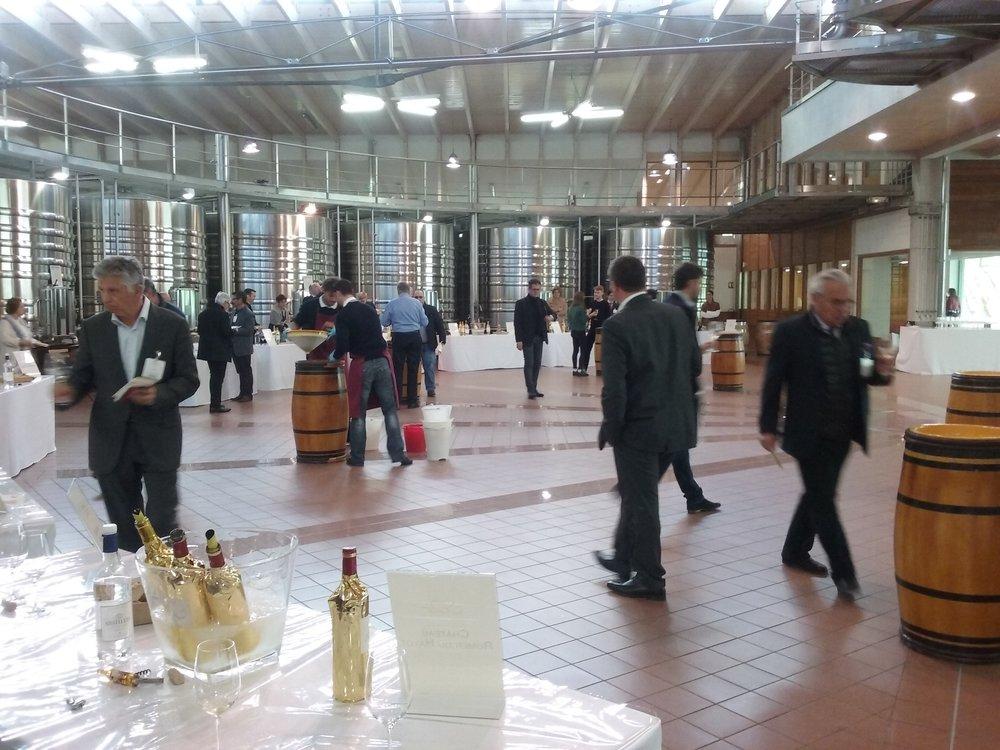 Participation à la présentation des vins primeurs au château LA LAGUNE en 2016