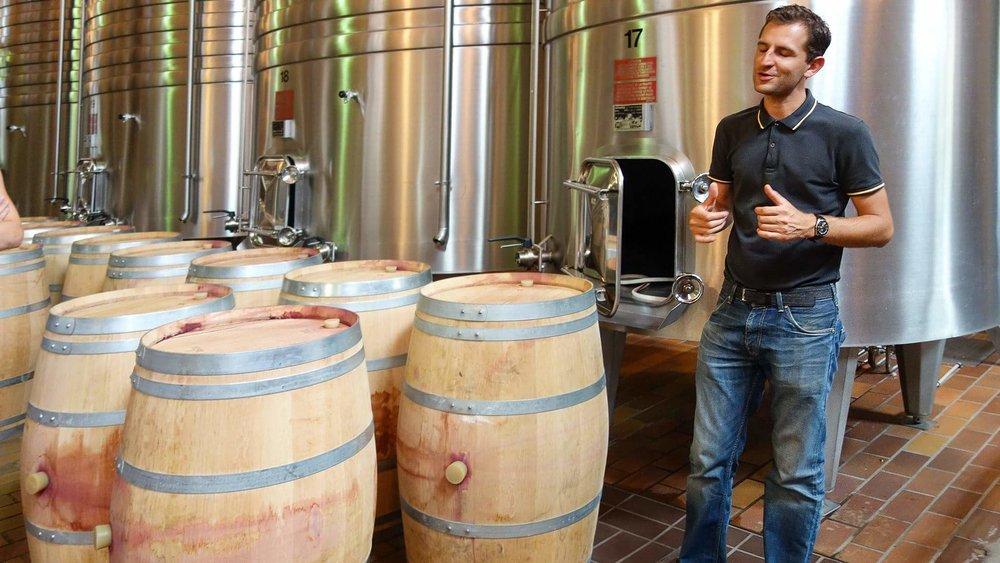 Wine tour au château Cantenac Brown à Margaux.