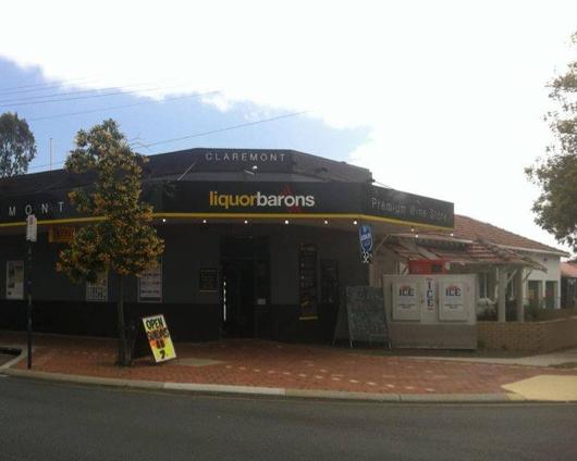 Cave à vins liquor barons dans la ville de Perth en Australie