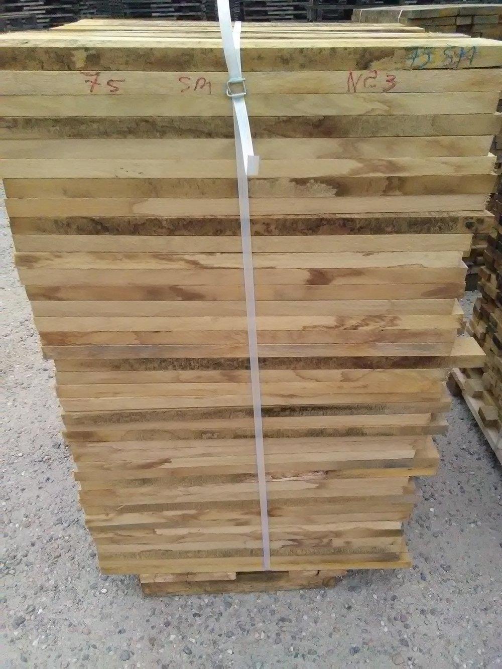 Séchage du bois à la tonnellerie St Martin