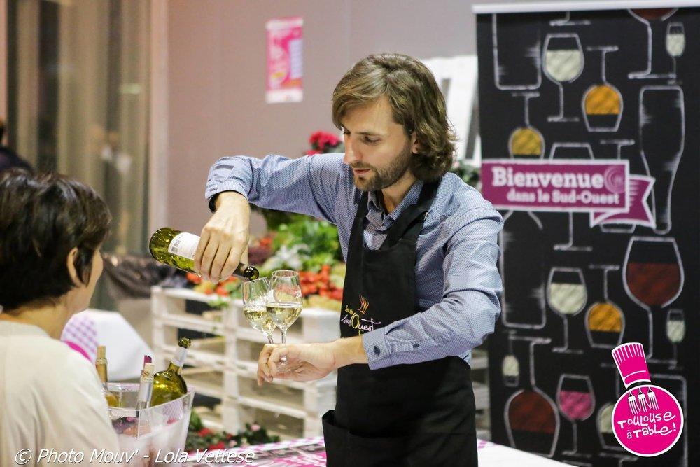 """""""Un professionnel et amoureux du vin avant tout…"""""""