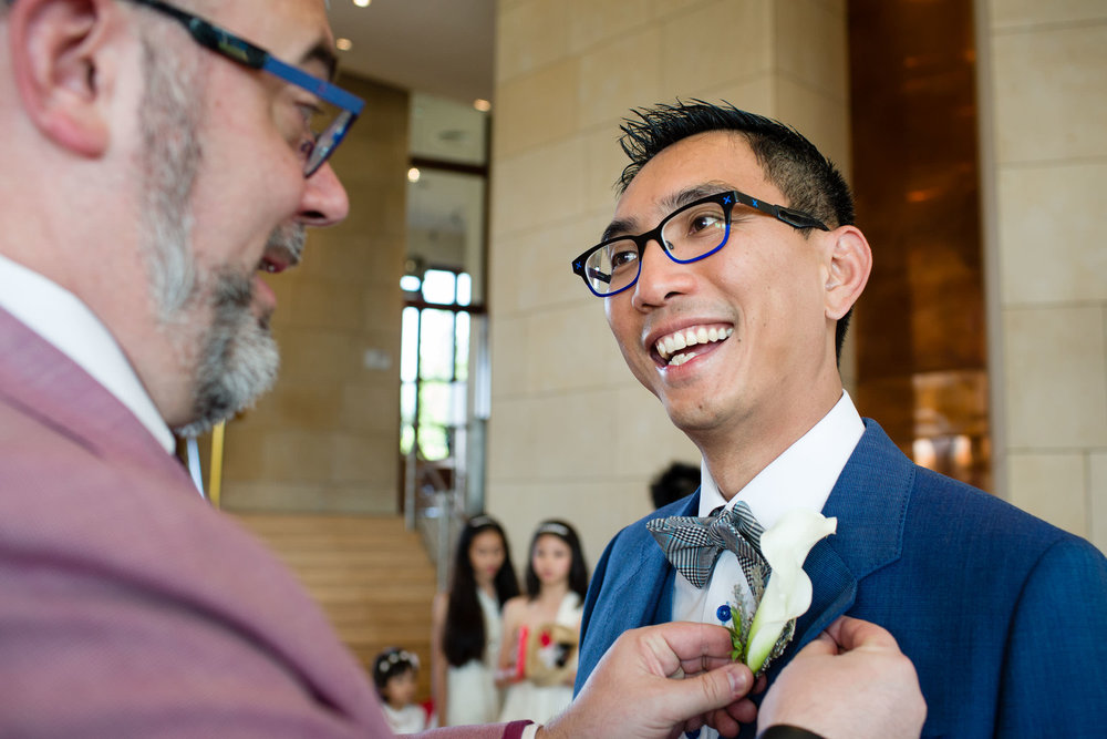 29/8/15. Chen & Tony. Boda del mismo sexo en Hotel Marqués de Riscal, Elciego, Alava, País Vasco, España. Foto de James Sturcke | sturcke.org
