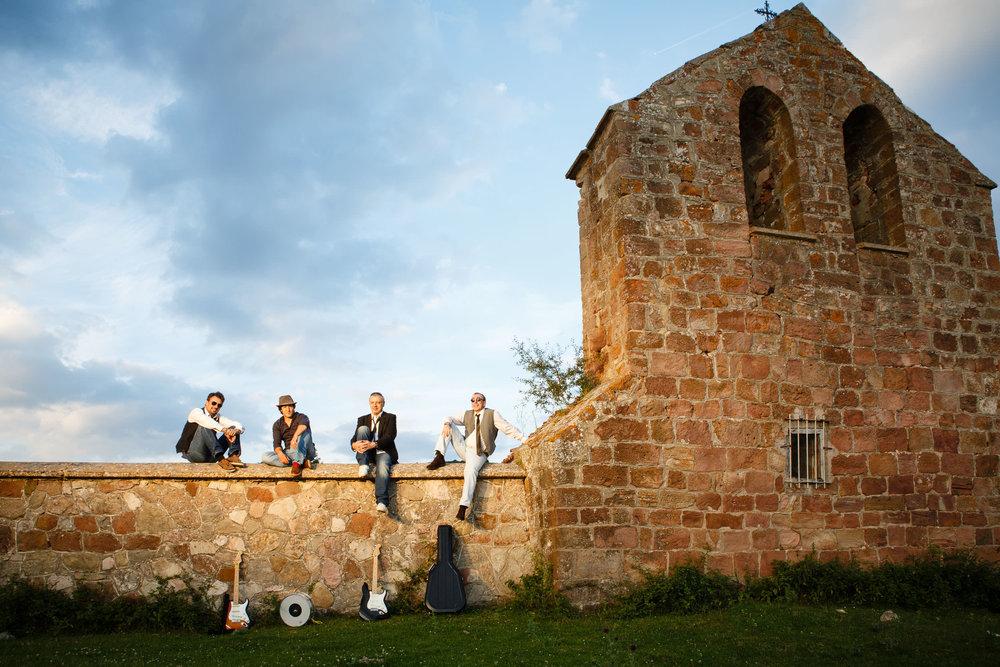 4/7/14 Dani, Dani, Candi e Iñigo, Alto de Pradilla, Burgos, Spain. Foto: James Sturcke | www.sturcke.org
