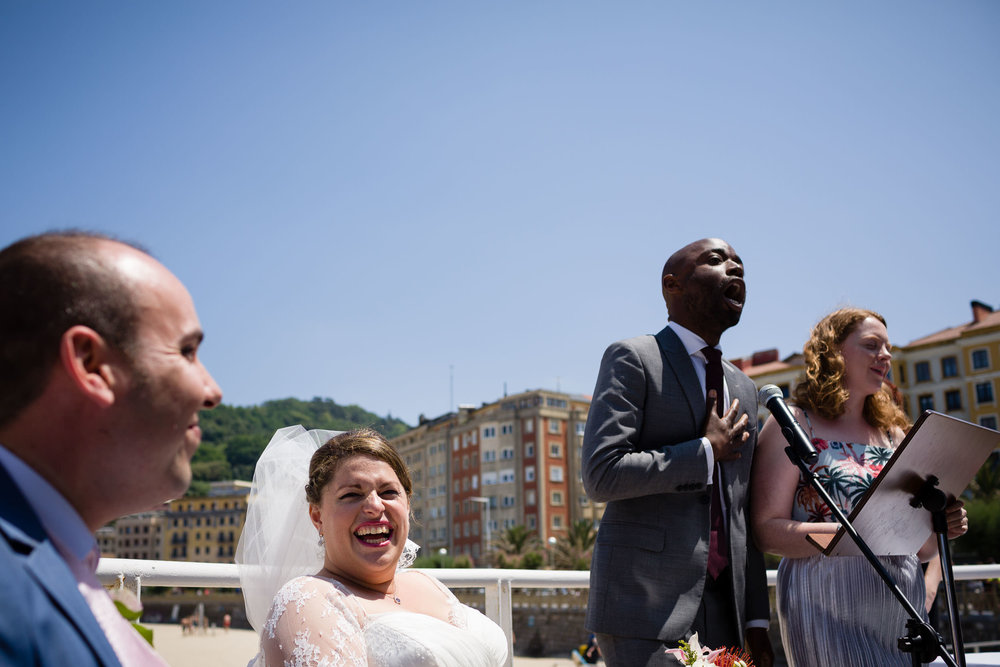 9/7/16 Lianna & Salvador's wedding, San Sebastian, Basque Country, Spain. Photo by James Sturcke | www.sturcke.org