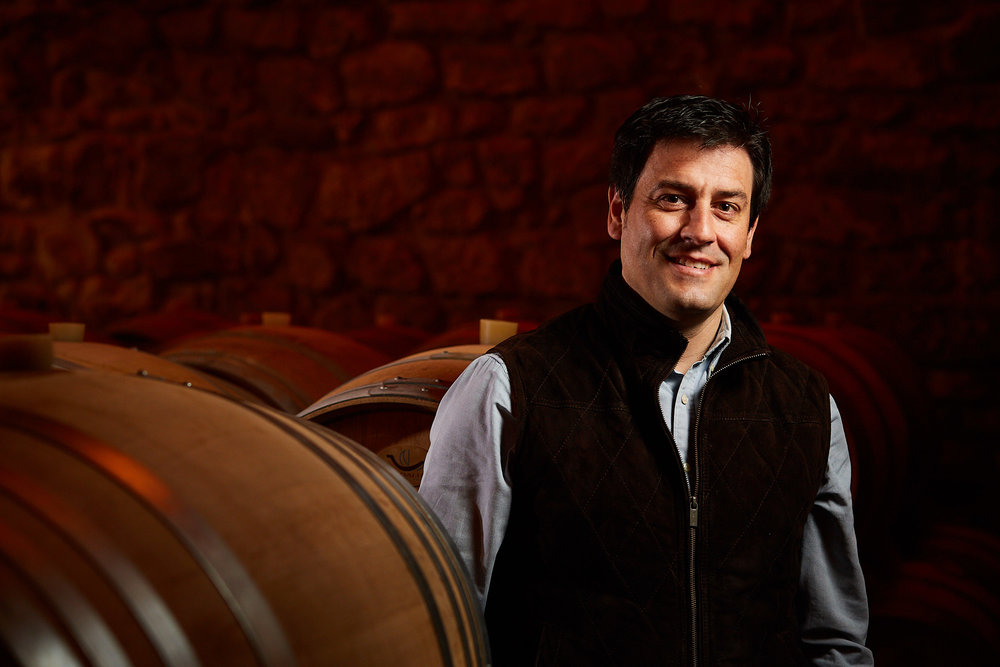 27/3/18 Portrait photographer Rioja Spain. Juan Antonio Leza, Bodegas Gómez Cruzado, Haro, La Rioja, Spain. Photo by James Sturcke | sturcke.org