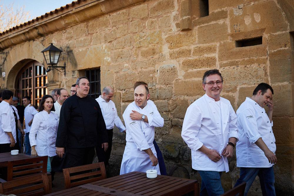 1/3/19 Rioja Capital, Restaurante La Vieja Bodega, Casalarreina (La Rioja), Spain. Photo by James Sturcke   sturcke.org