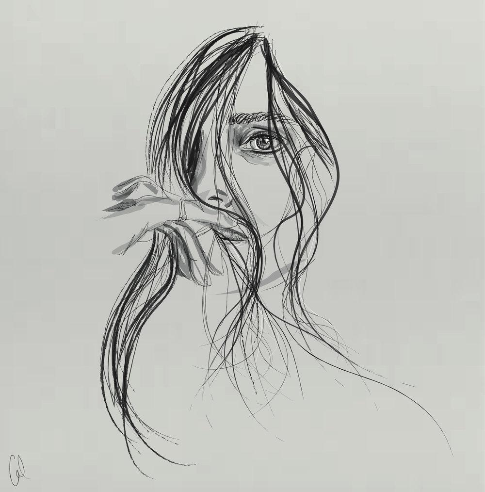 Lykke Li  By Cal McIntyre  2016