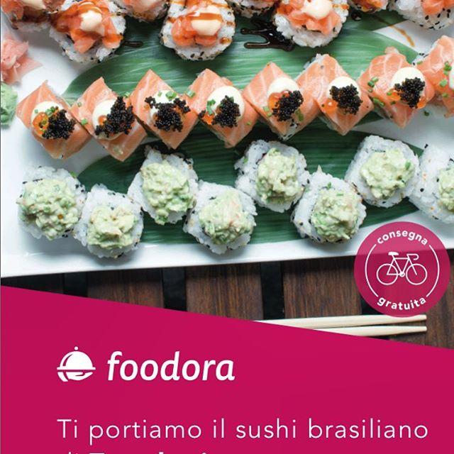 #temakerio #sushi #brasileiro #torino #foodora #delivery