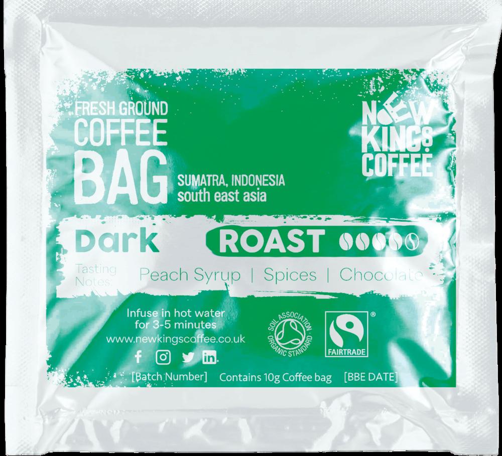 Dark Roast Fresh Ground Coffee - Sumatra Indonesia South East Asia