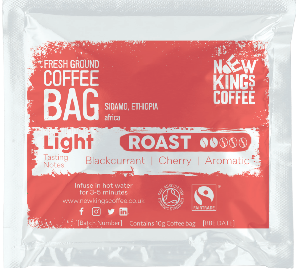 Light and aromatic coffee with a fruity finish