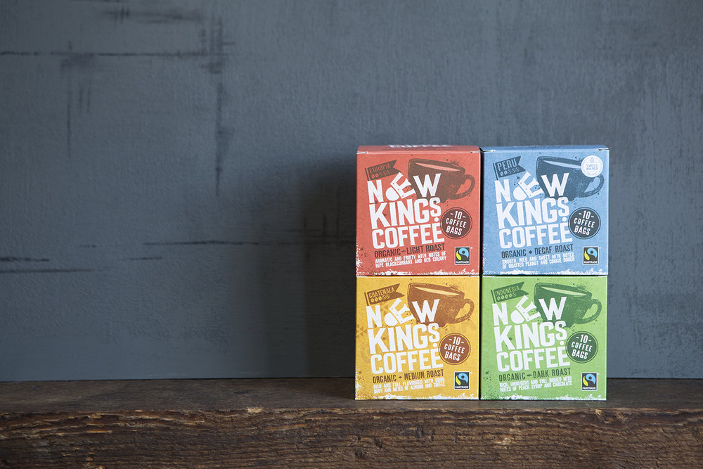 Selection of quality single origin Fairtrade and Organic coffees from around the world