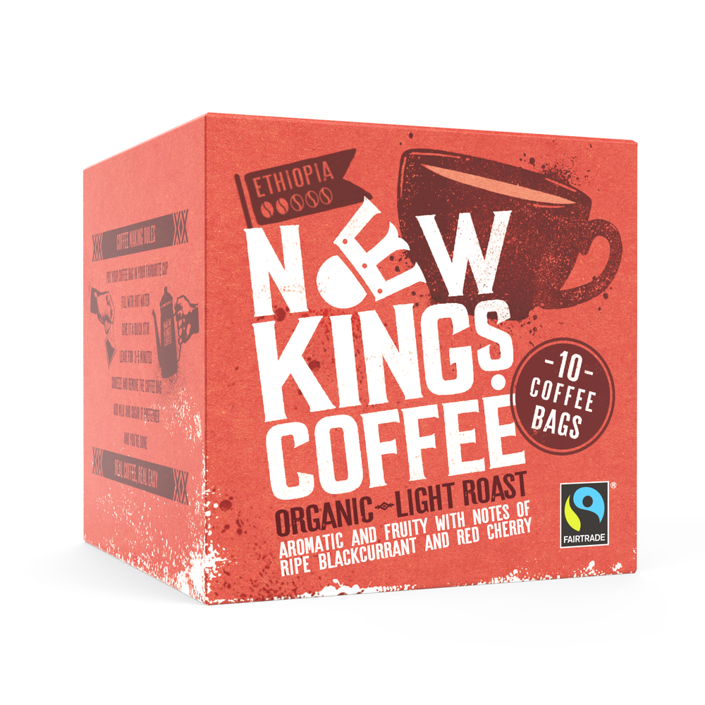 New Kings Coffee Bags Fairtrade Organic