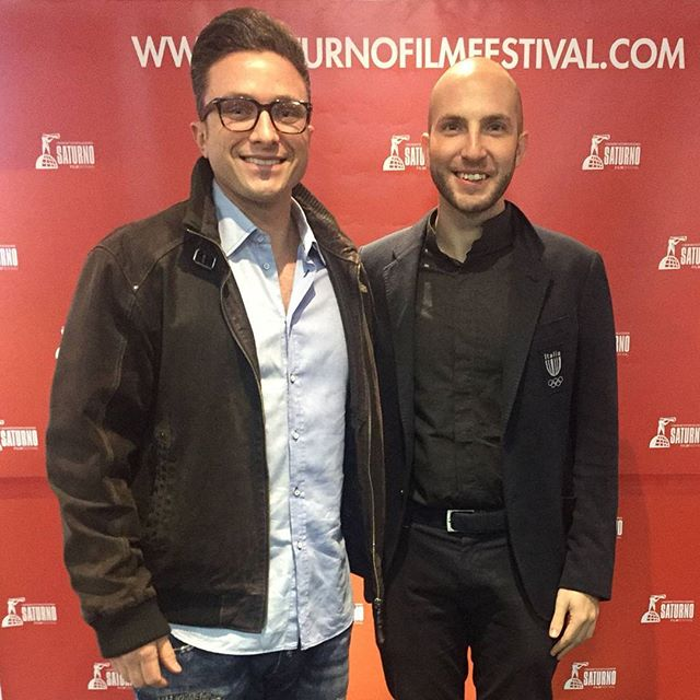 With Olympic gold winning athlete Niccolò Campriani at the @saturnofilmfestival in Rome. #filmfestival #Rome #italy #filmindustry #redcarpet #pearlpictures #olympics #olympicmedalist #winner