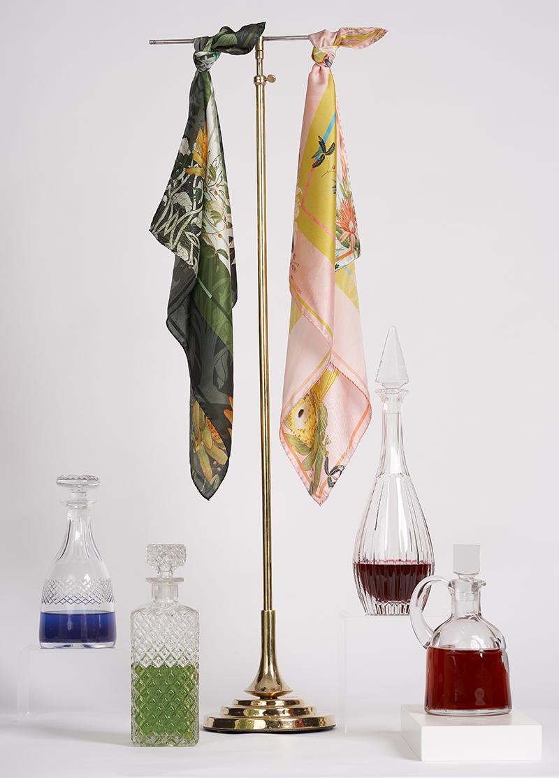 silk scarf spring summer 2018 heti's colours Lolita designer scarves