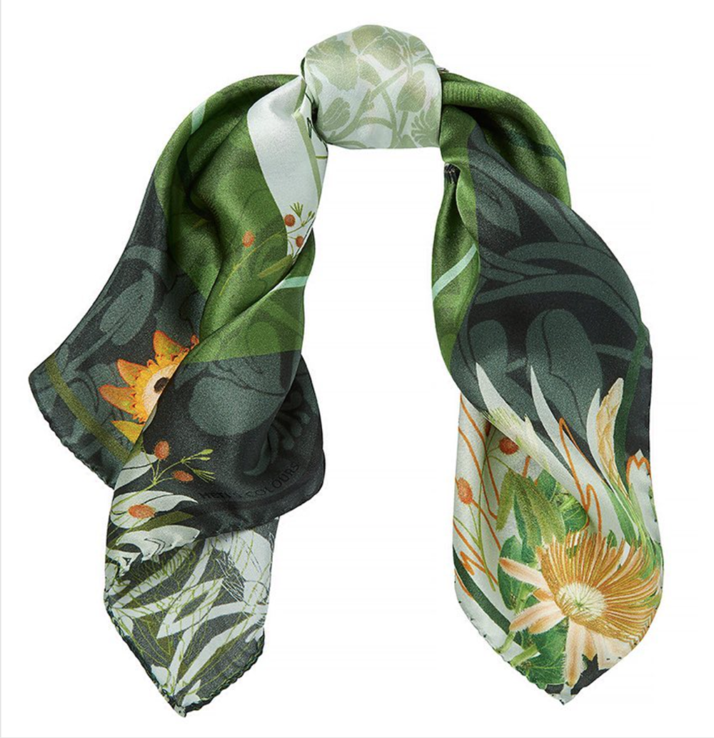 Lolita Silk Satin Scarf Neckerchief HTSI Financial Times