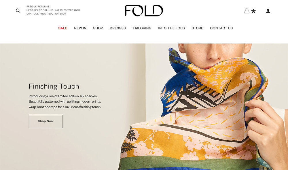The Fold Heti's Colours capsule collection SS19
