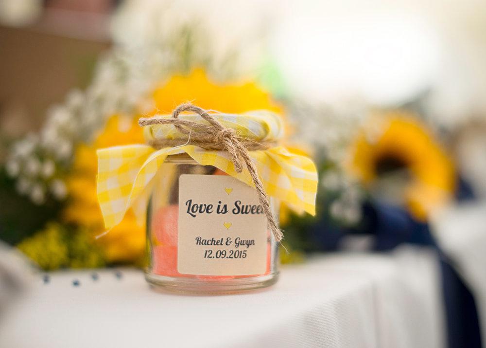 Wedding details | Pentre Mawr