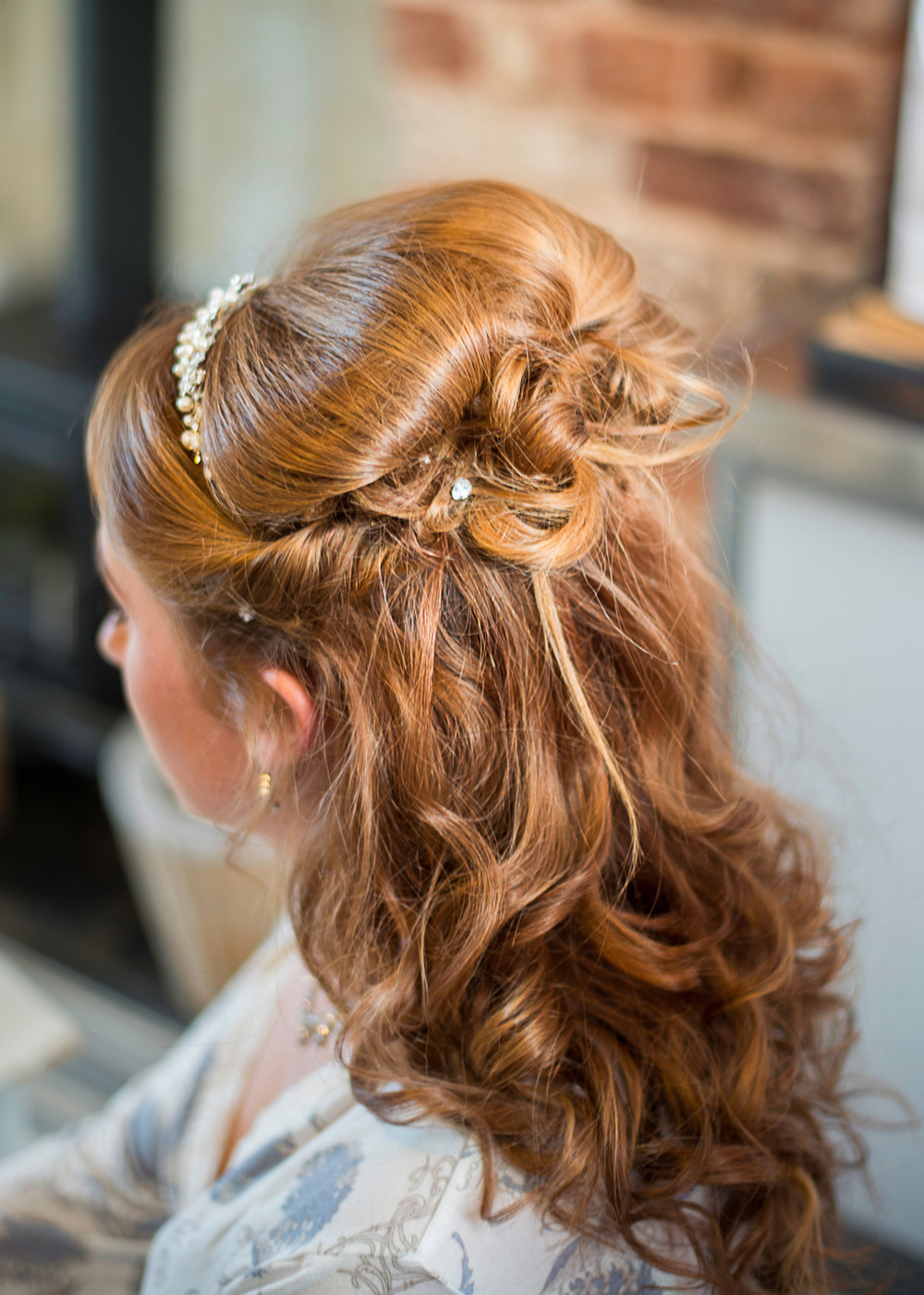 Bridal hair | Pentre Mawr