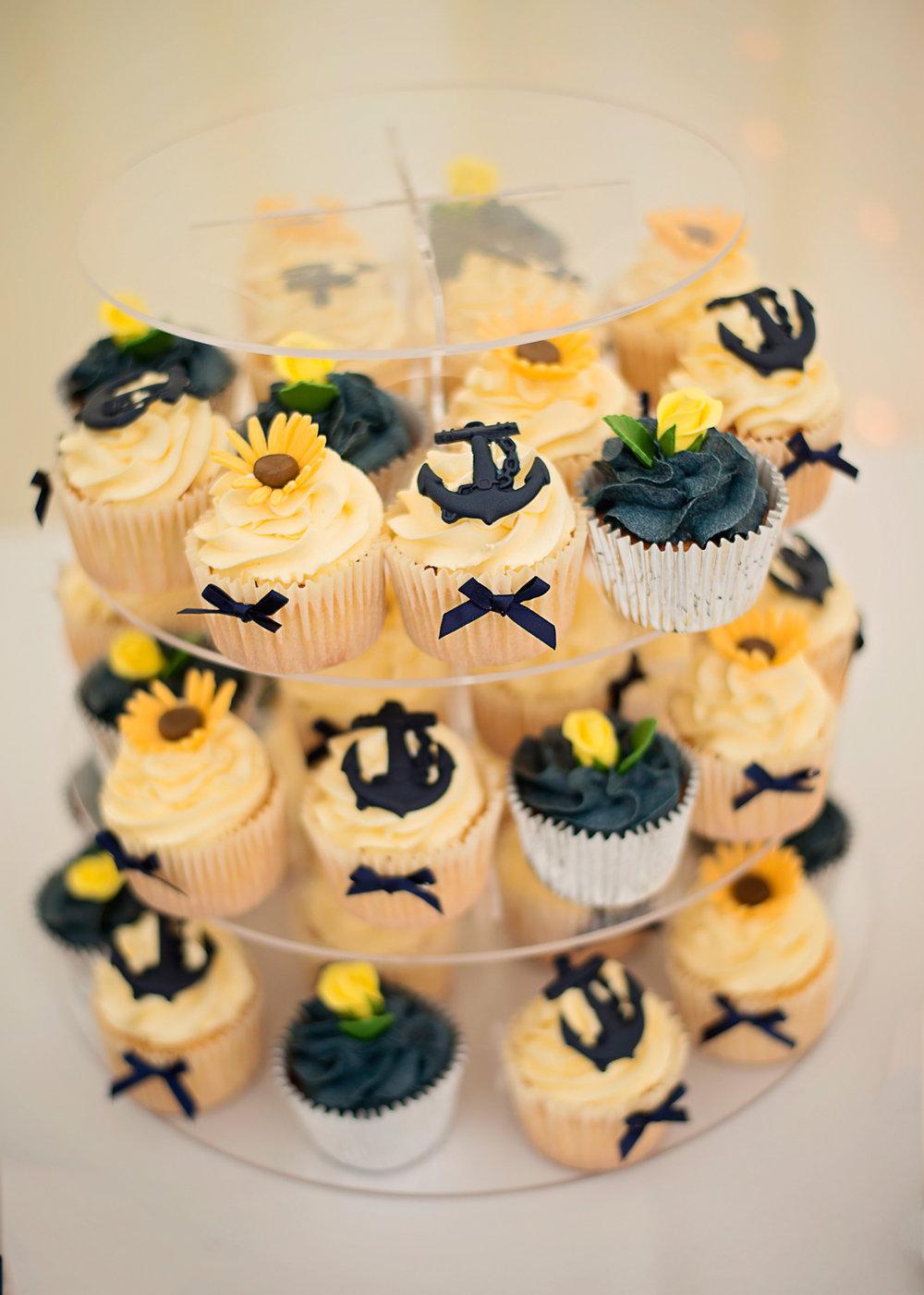 wedding cup cakes | Pentre Mawr