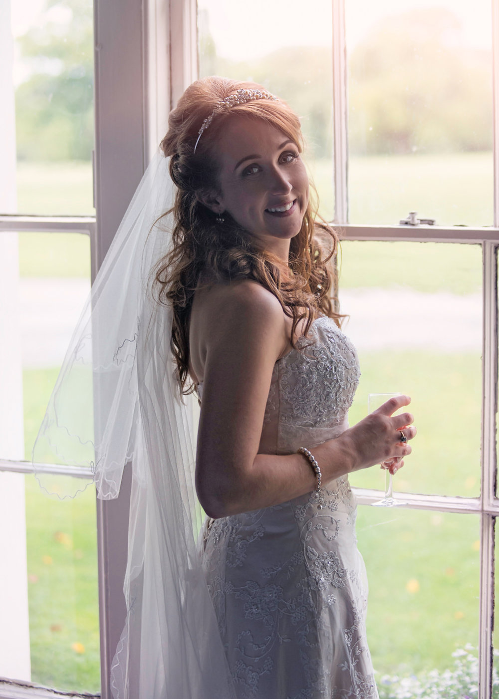 Pentre Mawr Country House | Bride Portrait