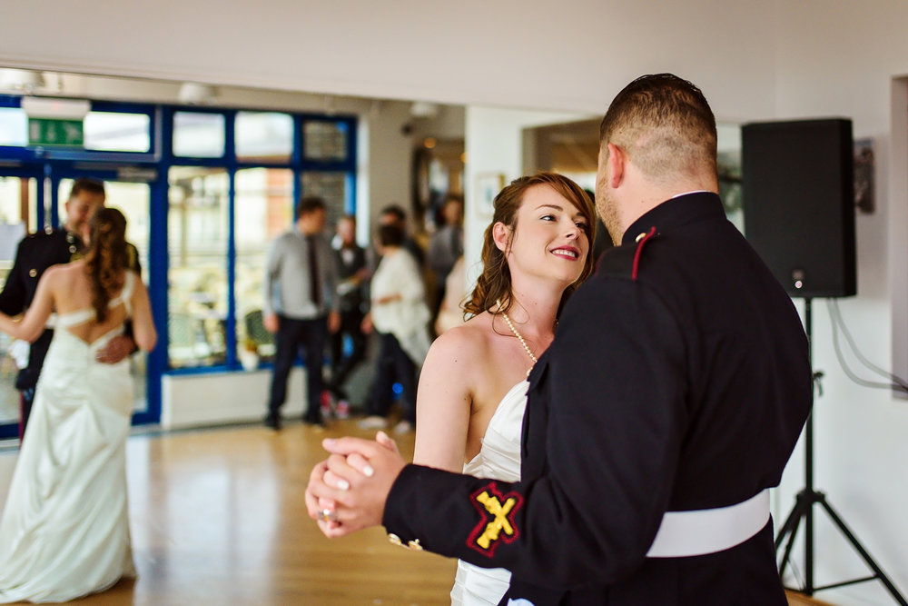 Wedding First dance | Intimate Bride and Groom | Sussex Wedding Photography