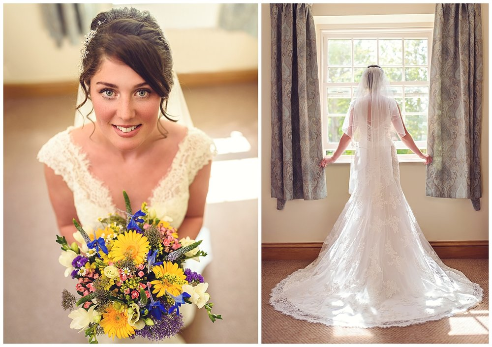 Bridal and bouquet | Ox Pasture Hall | Surrey Photographer