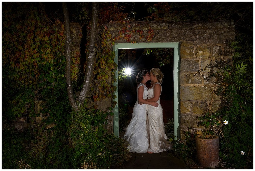 awesome wedding night portrait | surrey photographer