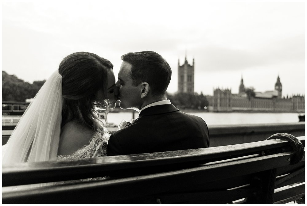 Alex Buckland Photography | Bride and Groom Kiss | Surrey Wedding Photographer