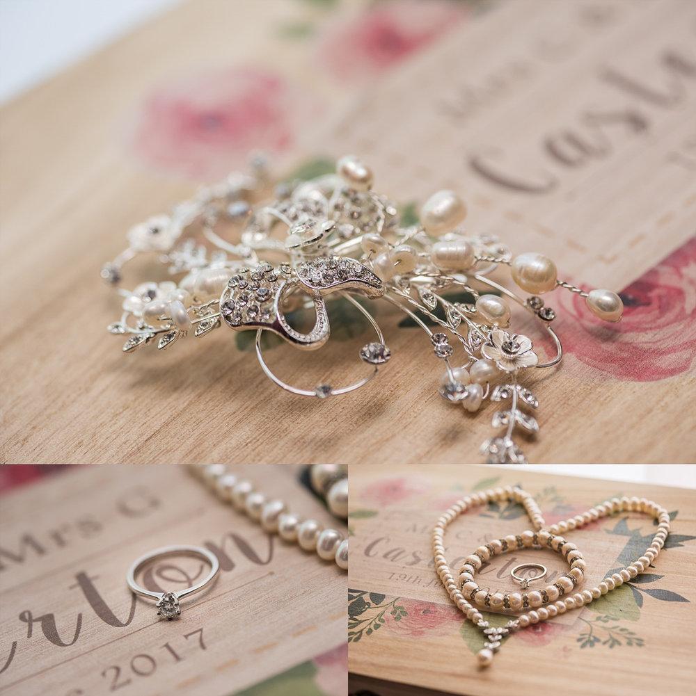 Exquisite shots of bridal details prep