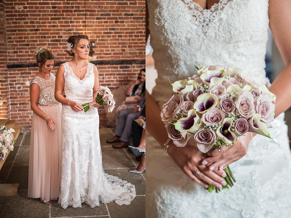 pastel wedding themed flowers hazel gap barn